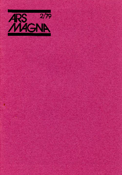 Ars Magna 1979/2